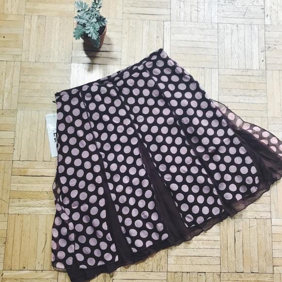 Vintage Dresses & Skirts - VINTAGE • polka dot skirt
